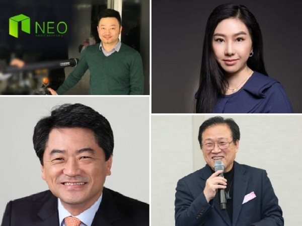 네오 다홍페이 등 글로벌 가상자산 리더들, 블루콘-유니온페이 계약 회견 참석